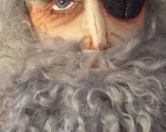 Odin, a OOAK cloth figure
