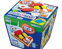 "Kutsuwa Japanese DIY Eraser making kit! ""Sushi"" set!"