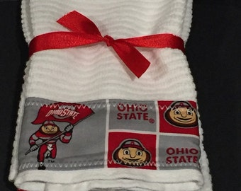 Ohio State Hand Towels