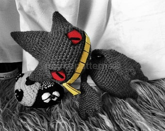 Banette Pokemon Crochet Amigurumi INSTRUCTIONS ONLY