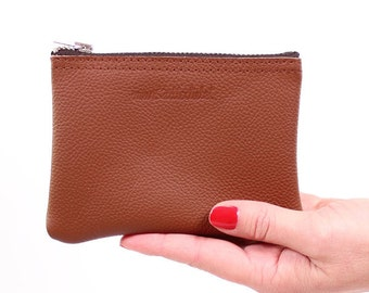 small purse Fran / / brown leather