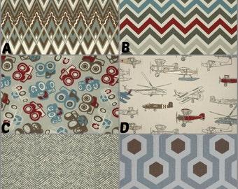 Custom Crib Bedding and Nursery Decor / Design Your Own / Crib Bumper / Crib Skirt / Crib Sheet / Premier Prints / Pewter, Natural
