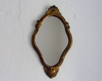 Small hanging mirror etsy for Small hanging mirror