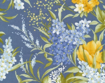 "Beautiful floral- Bristol Quilt Kit 62.5"" x 70.5"""