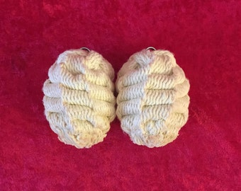 """Fire Poi (3.5"""" Solar Flare™) kevlar HEADS ONLY set of 2"""