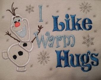 Disney Frozen Olaf I Like Warm Hugs