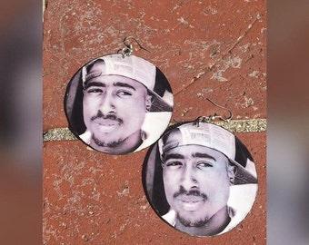 2pac earrings