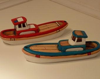 Cedar Toy Wooden Boat