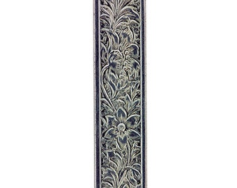Nickel Silver Pattern Wire - FLOWER 0.89 x 7.64mm - 1 foot piece  (NPW105)