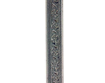 Nickel Silver Pattern Wire - MINI FLORAL 1.40 x 5.18mm - 1 foot piece  (NPW102)
