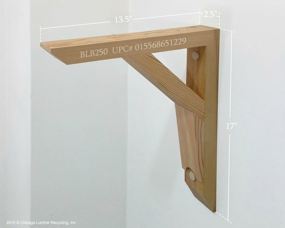 single heavy duty shelf support bracket blb250 by. Black Bedroom Furniture Sets. Home Design Ideas