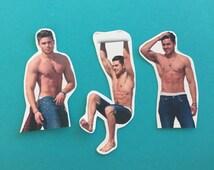 Zac Efron Sticker Set