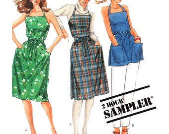 McCall's Sewing Pattern 2-Hour Sampler Misses' Wrap-Dress, Top  Size:  6-20  Uncut