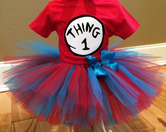 Thing 1 Outfit; Thing 2