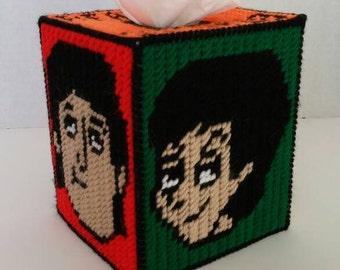 Beatles Tissue Box Cover