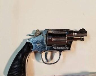 Hurley Colt Miniature Toy Revolver Cap Gun Vintage
