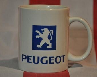 Peugeot mug for french car fans
