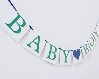 Baby Boy Banner, Its A Boy Banner, Baby Shower Banner, Baby Boy sign, baby shower sign, baby shower decorations, its a boy sign, baby shower