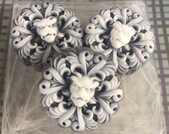 Gargoyle Soap - Halloween Soap - Gothic Soap - Gothic Gift - Gargoyle Gift - Novelty Soap - Gothic Party Favor - Horned Lion Soap