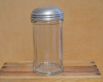 Sale - Gemco NYC Glass Sugar Dispenser 1950s