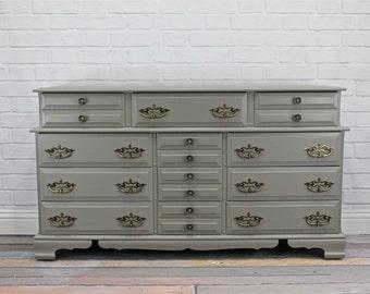 SOLD - Grey Dresser - SOLD
