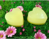 Heart of Melon and Melon Delights soaps by Eleni