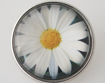 KB4327 Art Glass Print Chunk - Daisy