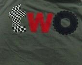 Truck wheel birthday shirt, monster truck birthday, 1 2 birthday shirt