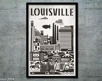 Louisville Bauhaus Poster
