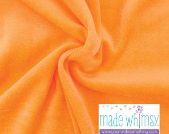 Tangerine Velour by Made Whimsy