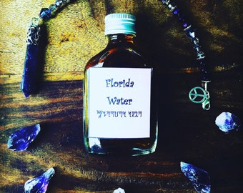 Various Magickal Waters - Florida water - witches water - four thieves vinegar - floor wash - ghost water - glory water - tar water