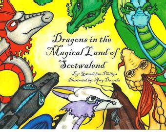 Dragons in the Magical Land of Scotwalend