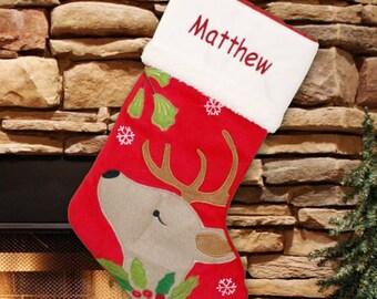 Christmas Stocking, Personalized Christmas Stocking