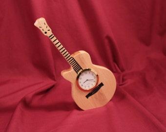 Desk Clock - Guitar