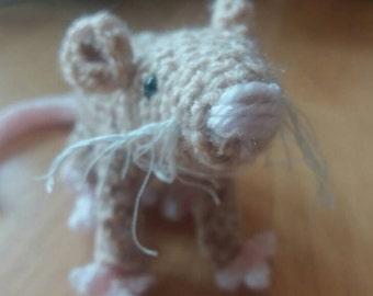 Amigurumi Crocheted Mouse