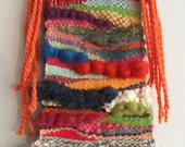 Woven Wall Hanging Tapestry //Trendy color