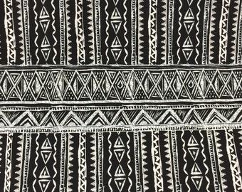 Custom Men's African BINTU Print Bow Tie