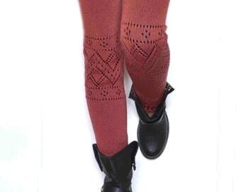 Long  Leg warmers /Ballet dance leg warmers/ Urban clothing / Knit leg wear / Woman leg warmers