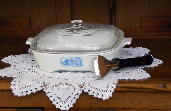 Corning Ware Browning Skillet And Lid 9 3 4 X 2 By