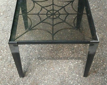 Metal Spider WebTable