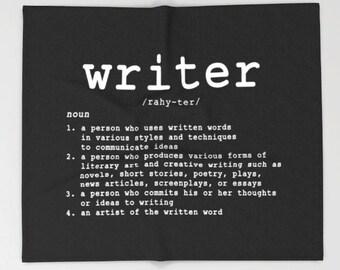Writer Definition Blanket, Writer Throw Blanket, Writer Blanket, Write Blanket, Writing Student, English Teacher, Writing Quote