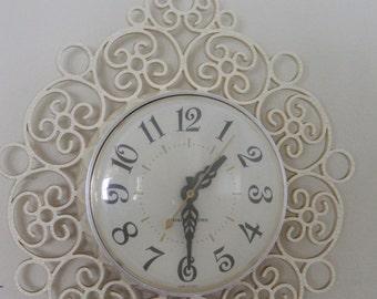 GE electric wall clock