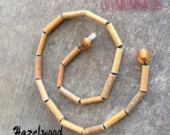 Beaked Hazelwood from Quebec Bracelet, Necklace or Anklet!