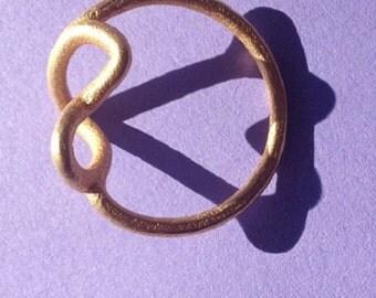 Alternate Infinity Heart Ring