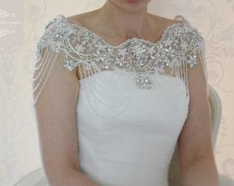 Stunning Vintage Inspired Bridal Bolero
