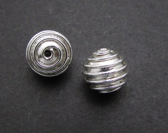 1 Pc, Sterling Silver Bead