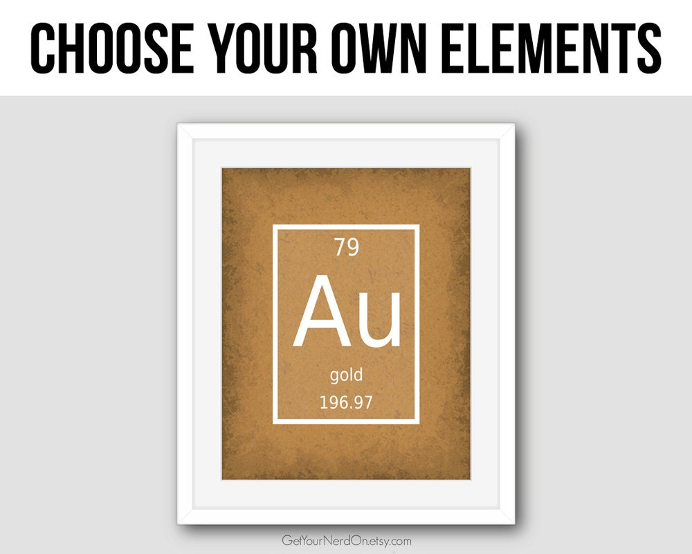Element Make Your Own Cereal Periodic Table Choose Your Own Element