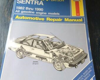 nissan/datsun 1982-1990 haynes repair manual