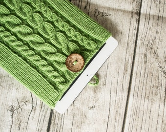 Hayley - Knit iPad/iPad Air Cover Case - Green