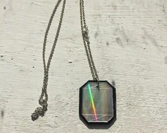 Precious gem necklace